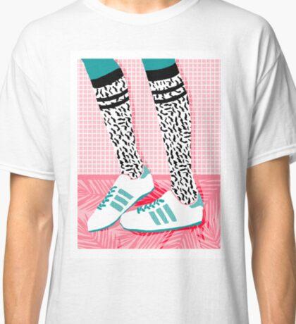 Aiight - tennis shoes athlete fashion shoe sports game palm springs socal country club retro throwback 1980s  Classic T-Shirt