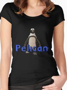 Not A Penguin Women's Fitted Scoop T-Shirt