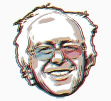 2016 Bernie Sanders 3D Glasses Kids Tee