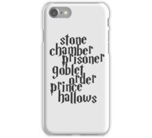 Stone Chamber Prisoner Goblet Order Prince Hallows iPhone Case/Skin