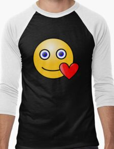 Smiley Heart Blue Eyes T-Shirt