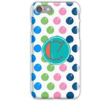 C Candy Bubbles iPhone Case/Skin