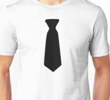Neck Tie Black Unisex T-Shirt