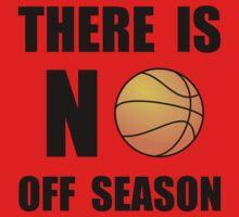 No Off Season Basketball Kids Tee