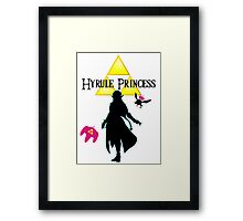 Hyrule Princess Framed Print