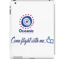 lost-oceanic airlines iPad Case/Skin