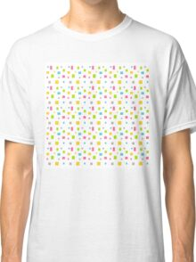 Color round cubes background Classic T-Shirt