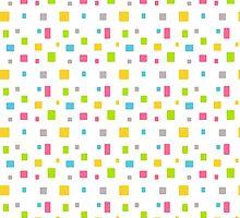 Color round cubes background by Alejandro Durán Fuentes