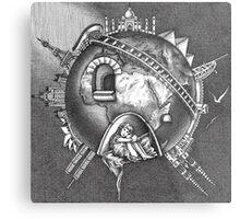 The Earth Metal Print