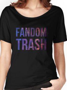Fandom Trash Women's Relaxed Fit T-Shirt