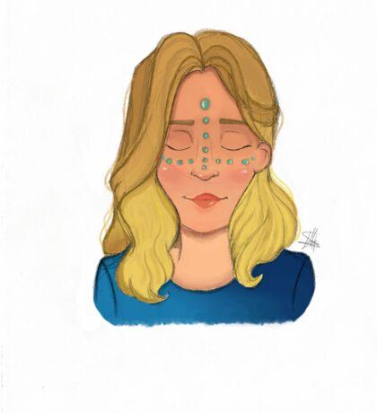 Blondie Girl Sticker