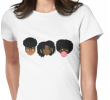 3 Wise Naturalistas Womens Fitted T-Shirt