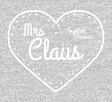 Mrs Claus One Piece - Short Sleeve