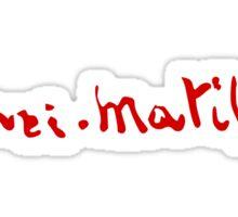Henri Matisse - Signature Sticker
