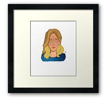 Blondie Girl Framed Print