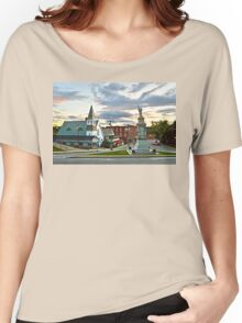 Middlebury, Vermont, at Sunset Women's Relaxed Fit T-Shirt