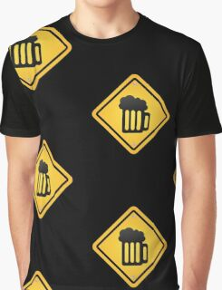 beer sign Graphic T-Shirt