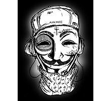 Occupy for Vendetta  Photographic Print
