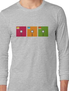 floppy color Long Sleeve T-Shirt