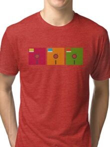 floppy color Tri-blend T-Shirt