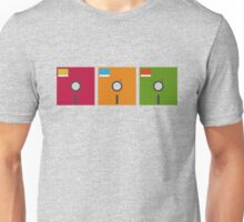 floppy color Unisex T-Shirt