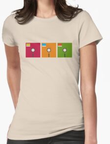 floppy color Womens Fitted T-Shirt