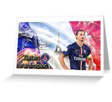 Zlatan Ibrahimovic Greeting Card