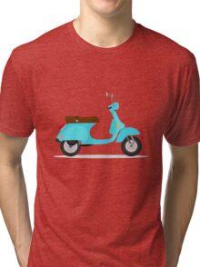 vintage vespa Tri-blend T-Shirt