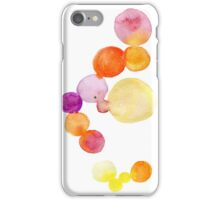 Watercolor magical circles iPhone Case/Skin