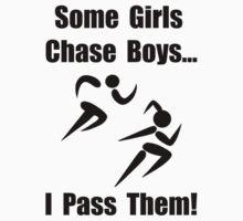 Run Pass Boys Kids Tee
