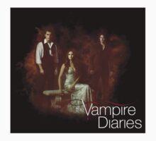 TVD - Damon, Stefan, Elena One Piece - Long Sleeve