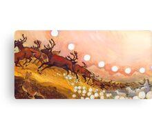 yukon caribou Canvas Print