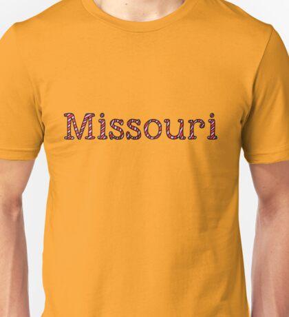Missouri Stripes Unisex T-Shirt