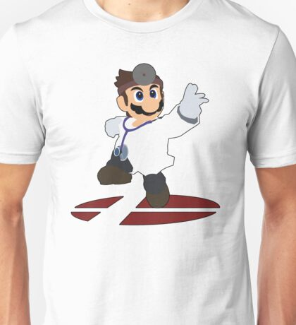 Dr.Mario - Super Smash Bros Melee Unisex T-Shirt