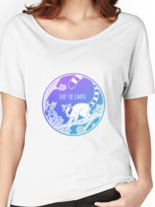 Save the Lemurs! Women's Relaxed Fit T-Shirt