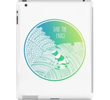 Save the Frogs! iPad Case/Skin