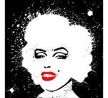Marilyn Monroe B&W Photographic Print