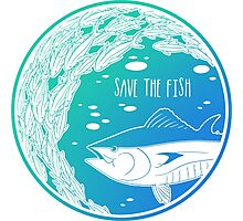 Save the Fish! Photographic Print