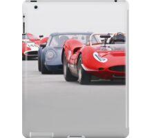 Vintage Racecars 'Tight Turn 11' iPad Case/Skin
