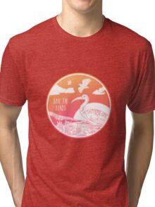 Save the Birds! Tri-blend T-Shirt