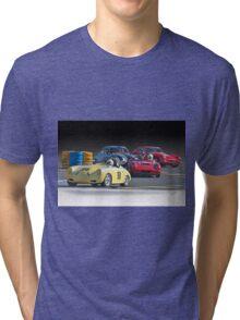 Vintage Racecars 'Lap Leader' Tri-blend T-Shirt