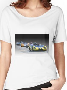 Vintage Racecars 'Home Stretch' Women's Relaxed Fit T-Shirt
