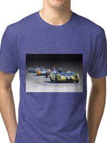 Vintage Racecars 'Home Stretch' Tri-blend T-Shirt