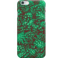 Scent of Pine RETRO GREEN iPhone Case/Skin