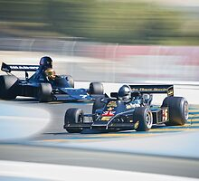 Vintage Formula One Racecars 'F1 Competition' by DaveKoontz