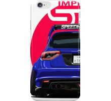Speedhunters - BLUE Subaru Impreza WRX STI iPhone Case/Skin