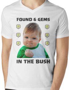 6 Gems in the Bush Mens V-Neck T-Shirt