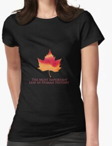 Doctor Who - The Most Important Leaf in Human History T-Shirt