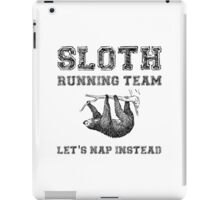 Sloth Running Team iPad Case/Skin