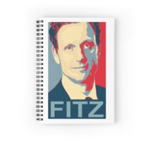 "Scandal -"" I'm the Commander in Chief "" - President Fitz * Notebooks and Journals added * Spiral Notebook"